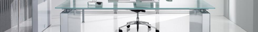 Diamond Prestige Glass Executive Furniture for sale