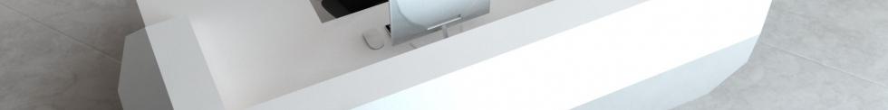 Corian Designer Reception Desks for sale