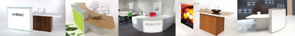 Evo-Lite Reception Desks for sale