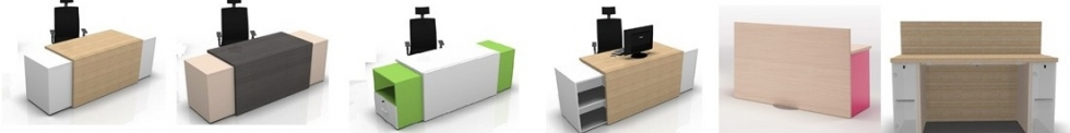 Versa Reception Desks for sale