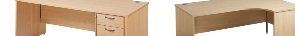 GM Economy Panel Leg Desks for sale