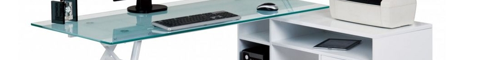 Economy Glass Desks for sale