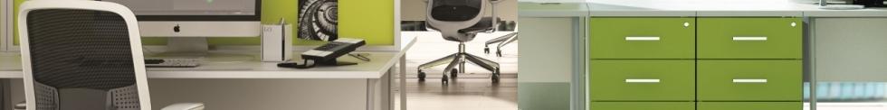 Scope Colour and wood Reception Desks for sale