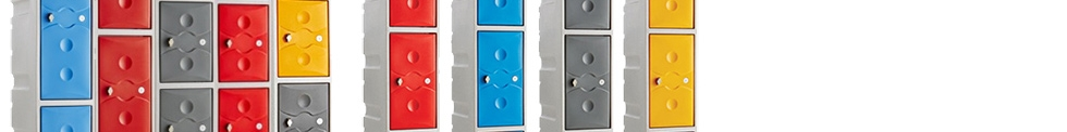 ColourPlus Plastic Lockers for sale