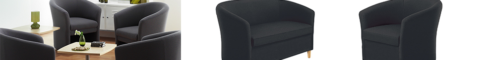 Tub style sofas and tub chairs for sale
