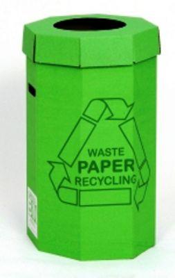 Acorn Waste Paper Office Recycling Green Bin 0 50 - 300 M