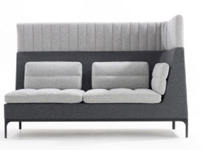 Haven High Left Hand Two Seater Corner Sofa