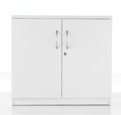 White Low Cupboard