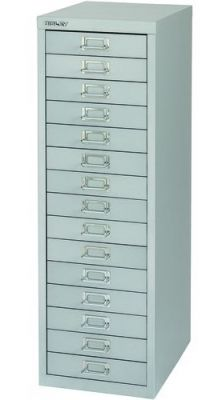 Bisley Grey 15 Multidrawer