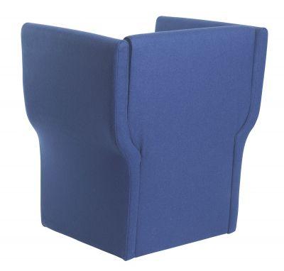 Fabric Tub Chair Rear