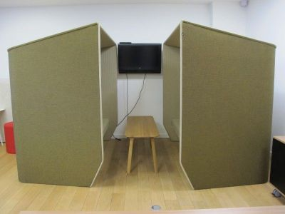 Acoustic Booths Side View