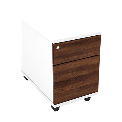Distrikt Two Drawer Mobile Pedestal With Lockable Drawers