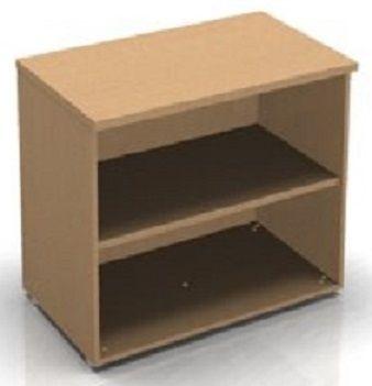 C01 Low Bookcase In Beech