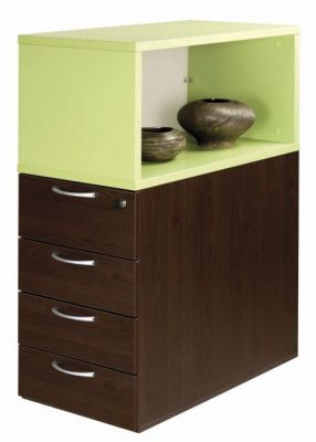 C01 4 Drawer Desk Height Pedestal And Top Box