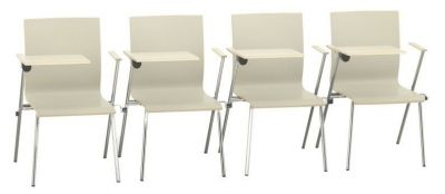 Sven Designer Coneference Chairs With Writing Tablet