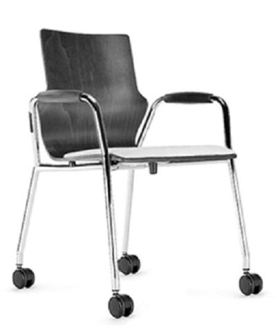 Converse Mobile Conference Armchair With An Upholstered Seat