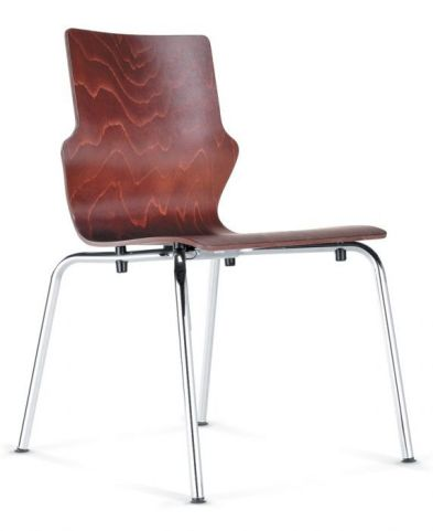 Converse Four Leg Wooden Conference Chair