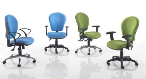 Sapphire Ergonomic Task Chairs Group Shot
