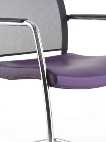 Exile Conference Chair Ergonomically Curved Seat