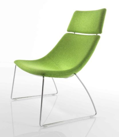 Curveo Designer Tub Chair With Extra High Back