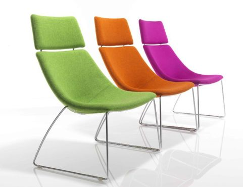 Curveo Designer Seating With High Backs