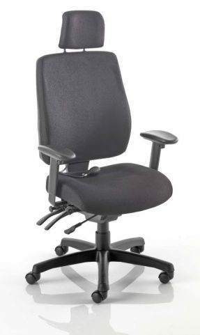 Performer High Back Upholsterd Task Chair