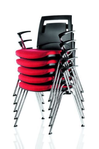 Flip Stack Armchair Stacked