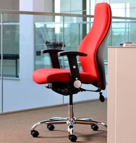 Flexico Ergonomic Chair In Red