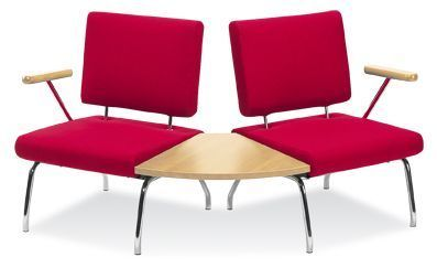 Konnect Chairs With A 60 Degree Table