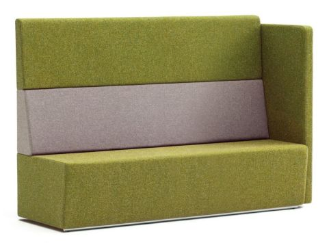 Totem Modular Sofa With An Extra High Back And Single Arm