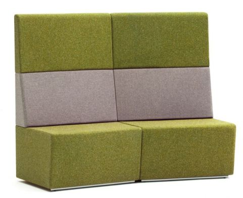 Totem Concave Sofa With An Extra High Back