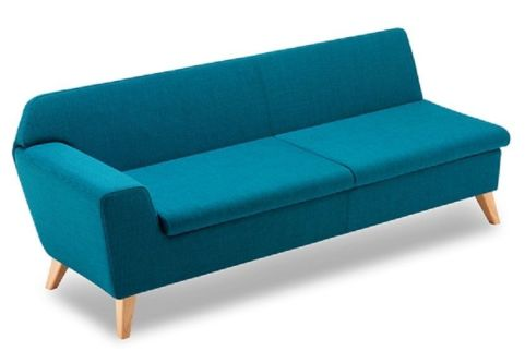 Stretch Threee Seater Modular Sofa With A Right Hand Arm
