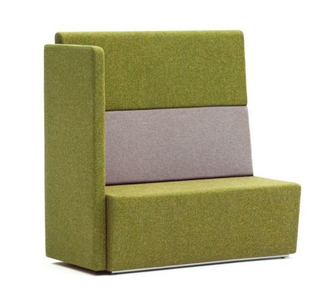 Totem Two Seater Sofa With An Extra High Back And Right Hand Arm