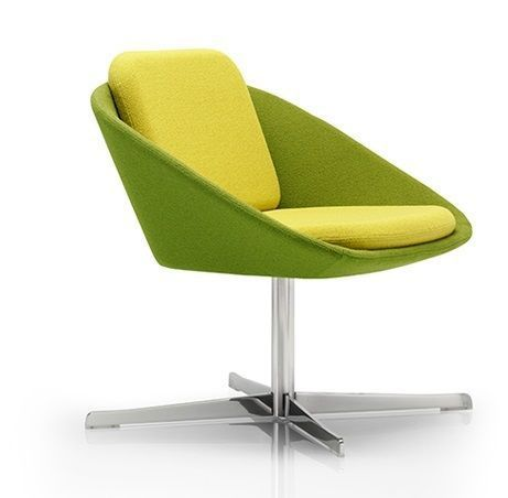 Squish Designer Chair With A Four Star Polished Base