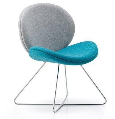 Giggler Designer Chair With A Crossover Frame