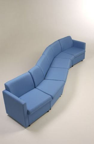 Cabby Sofa Group In A Wave Combination