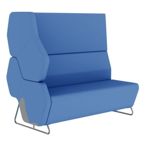 Hex Modular Sofa With An Extra High Back And Right Hand Arm