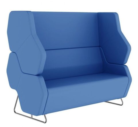 Hex Modular Sofa With An Extra High Back And Arms