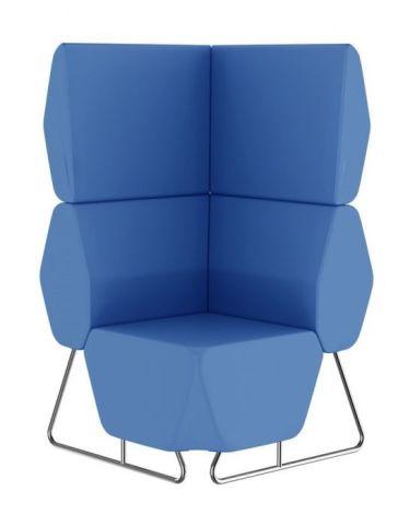 Hex Corner Modular Sofa With An Extra High Back