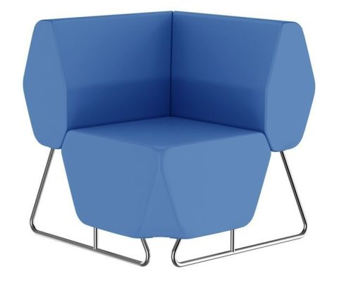 Hex Corner Sofa With A Low Back