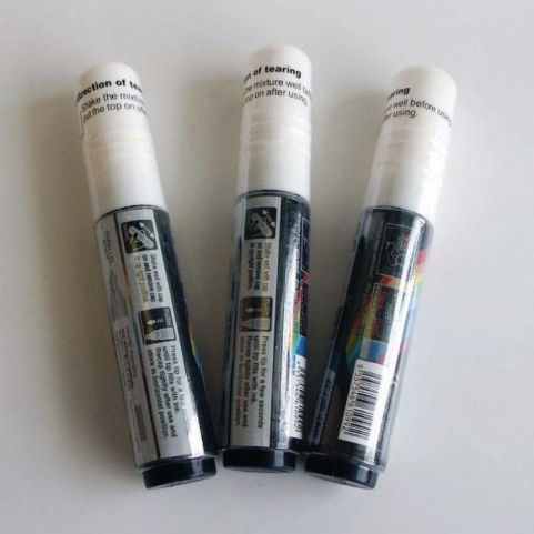 Blackboard And Glassboard Pens Pack Of 3 White