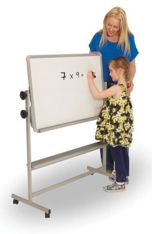 Tilt And Teach Mobile Classroom Writing Board