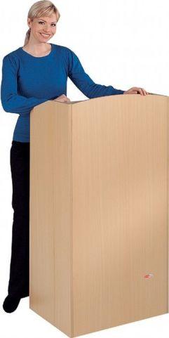 Embassy Wooden Folding Lectern Assembled