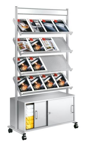 Artline Mobile Leaflet Display And Cabinet