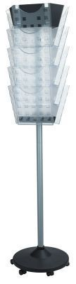 All Clear Rotating Leaflet Dispenser 15 X A4