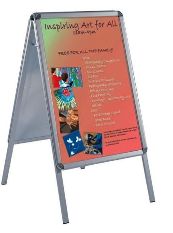 Busygrip A Frame Poster Display
