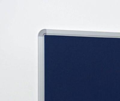 Fs Aluminium Framed Notice Board Corner Detail