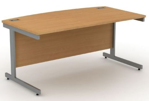 Avalon Bow Fronted Desk