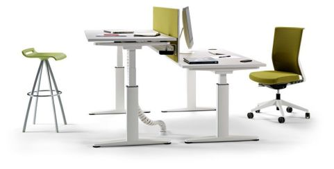Ergo X Height Adjustable Desks With Mechanical Elevation
