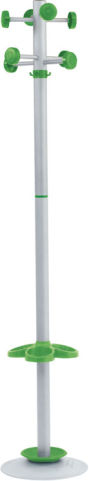 Wontong Coat Stand Green Pegs